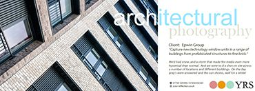 YRSCommercial, Birmingham architectural photography - Epwin Group.